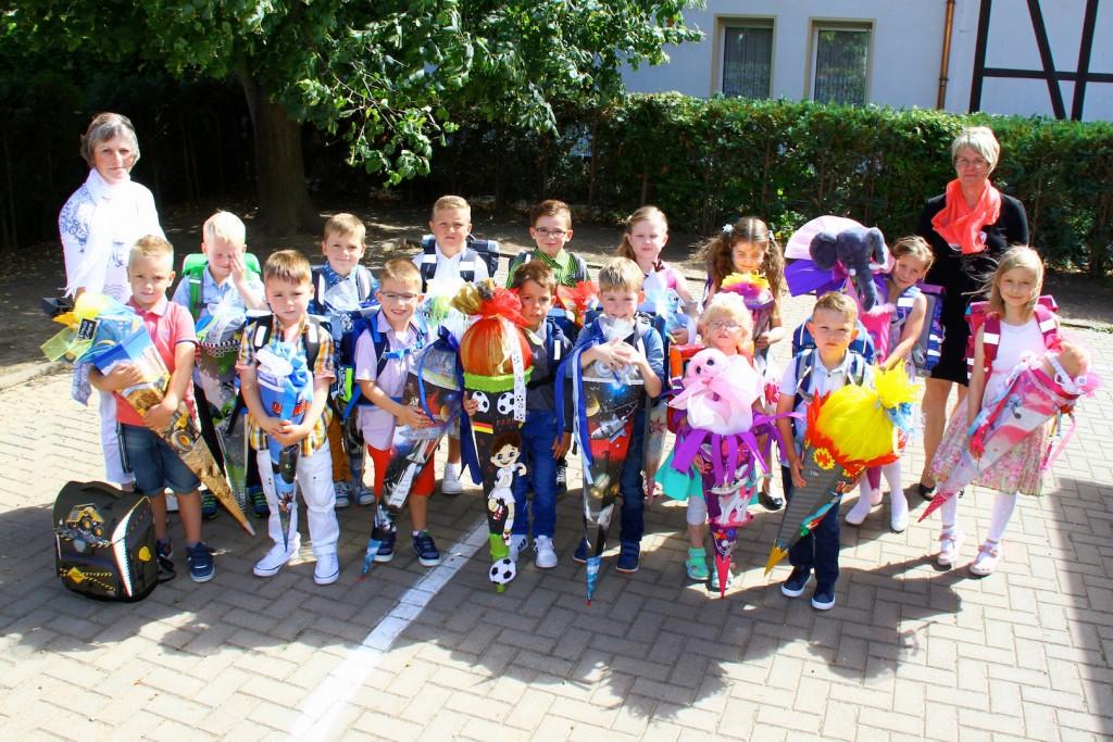1. Klasse GGrundschule Kirchworbis